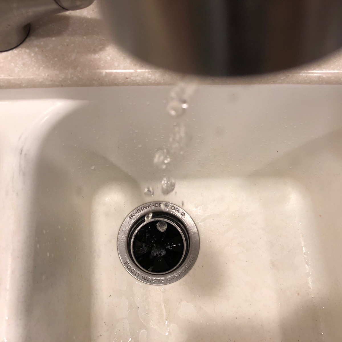 Dripping water